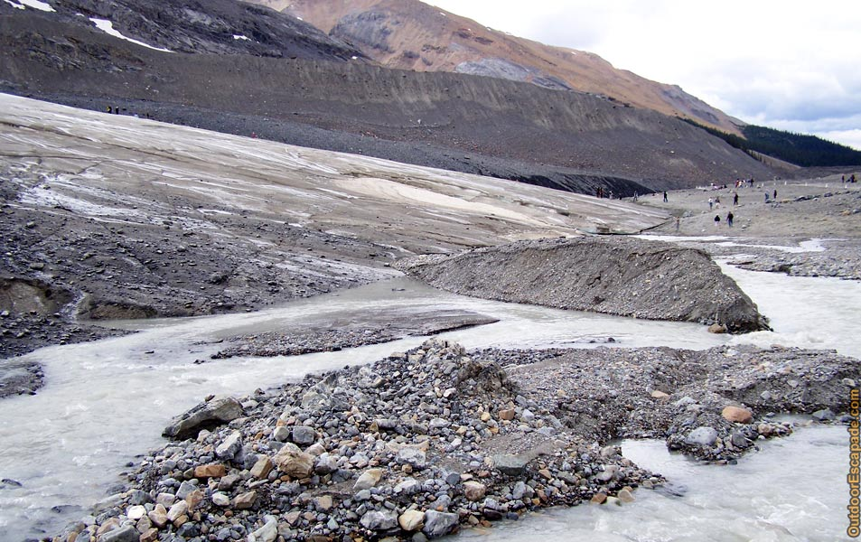 Columbia Icefields Centre Athabasca Glacier Outdoor Escapade Canadian Trip Reports And Abroad