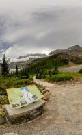 360 Degree view from Plain of Six Glaciers.