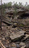 360 degree panorama at Troll Falls.