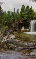 360 degree panorama at furthest hidden waterfall.