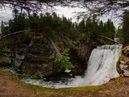 360 degree panorama at the second hidden waterfall.
