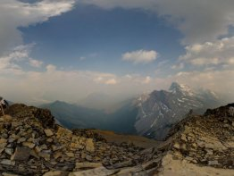 360 Degree view from the summit of Rimwall Summit.