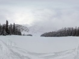 360 Degree view from Rawson Lake.