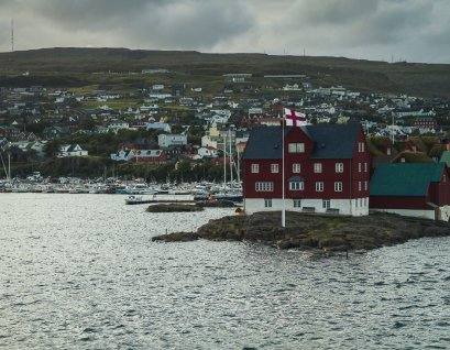 Tórshavn dock and port