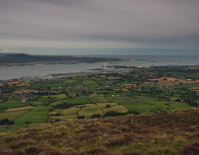 View of Carlingford from a local high point
