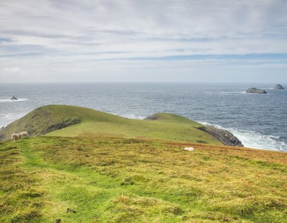 Looking out at the Atlantic from the west end of Dursey Island