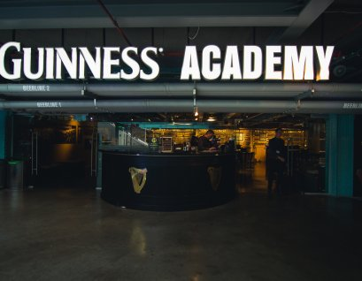 Learn how to pour the perfect pint of Guinness at the Guinness Academy