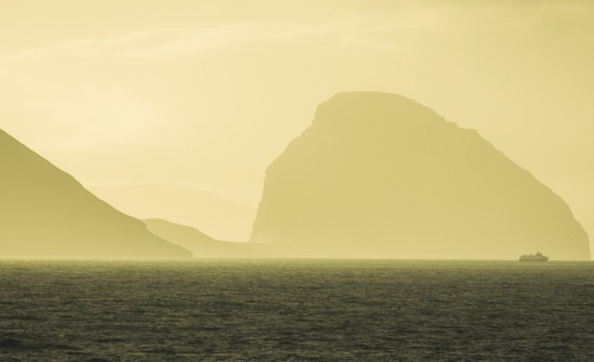Golden hour at the Faroe Islands