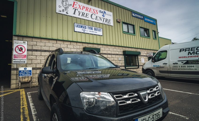 Express Tyre Centre in Carrigalin, Co. Cork