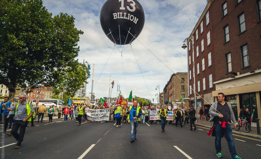 Right2Water Campaign - Dublin Protest